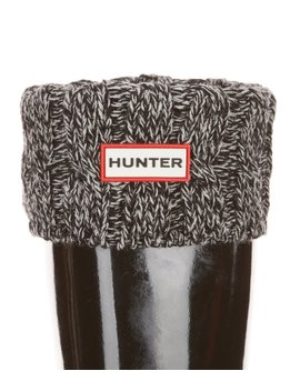 Original Six Stitch Cable Short Boot Socks by Hunter