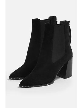 Harrison High Heel Ankle Boots by Topshop