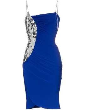 Sequin Panel Strappy Midi Dress by Preen By Thornton Bregazzi