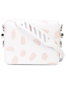 Off White X The Webster Abstract Print Shoulder Bag by Off White