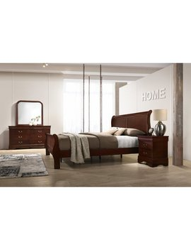 Charlton Home Braiden Sleigh 4 Piece Bedroom Set by Charlton Home