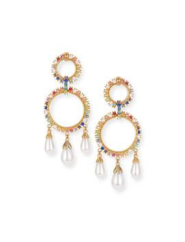 Lexy Rainbow Drop Earrings by Lulu Frost