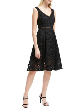 Blossom Lace Fit & Flare Dress by French Connection