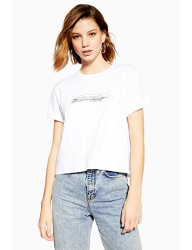 Hollywood Illustration T Shirt by Topshop