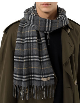 Men's Vintage Check Scarf by Burberry