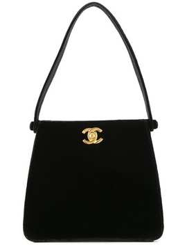 Cc Logos Hand Bag by Chanel Vintage