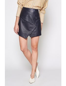 Akirako B Leather Skirt by Joie