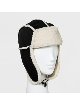 Chaos Women's Faux Shearling Trapper Hat   Black by Chaos