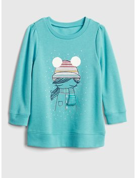 Interactive Graphic Tunic Sweatshirt In Fleece by Gap