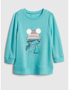 Interactive Graphic Tunic Sweatshirt In Fleece by Gap