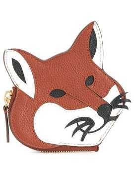 Fox Zip Purse by Maison Kitsuné