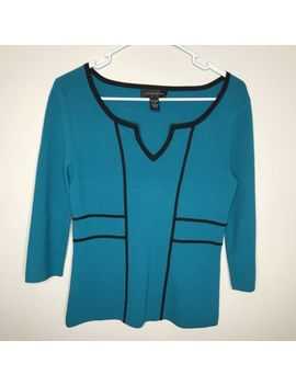 Nwt Cable & Gauge 3/4 Sleeve Blouse Sz Small by Cable & Gauge