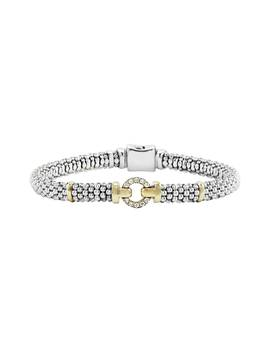 Enso Diamond Bracelet by Lagos