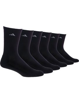 Adidas Men's Athletic Crew Socks 6 Pack by Adidas