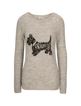 Plush Scottie Dog Sweater by Ricki's