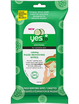 Cucumber Calming Mask Removing Wipes by Yes To