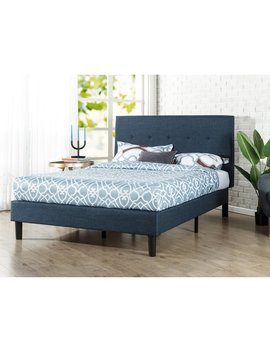 Wrought Studio Roye Button Detailed Upholstered Platform Bed & Reviews by Wrought Studio