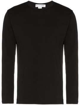 Logo Printed Cotton T Shirt by Comme Des Garçons Shirt