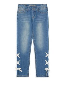 Girl's Lace Up Jeans by Vigoss