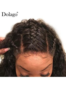 Deep Wave 5x5 Lace Closure Brazilian Human Hair Lace Closure Bleached Knots Pre Plucked With Baby Hair Free Part Dolago Remy by Dolago