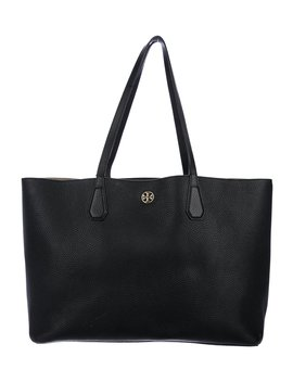 Grained Leather Tote by Tory Burch
