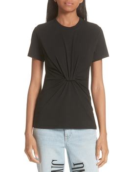 High Twist Jersey Tee by Alexanderwang.T