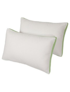 Density Story Medium Firm Bed Pillows 2pk   Iso Pedic® by Pegasus Home Fashions
