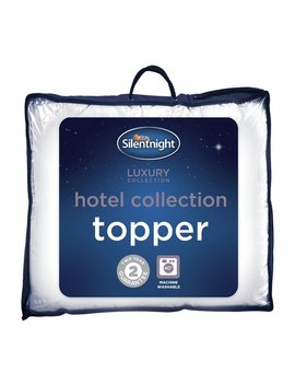 Silentnight Luxury Hotel Collection Mattress Topper   Single by Argos