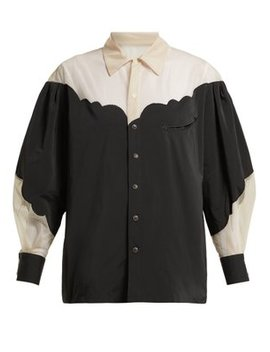 Panelled Tulle And Taffeta Blouse by Toga