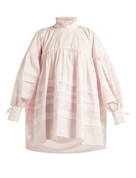 Alberte Oversized Cotton Blouse by Cecilie Bahnsen