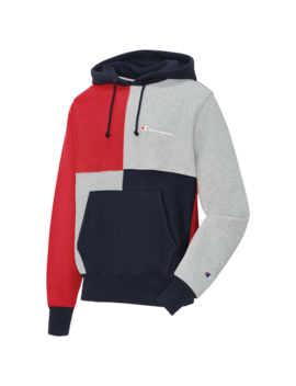 Champion Reverse Weave Colorblock P/O Hoodie by Men's