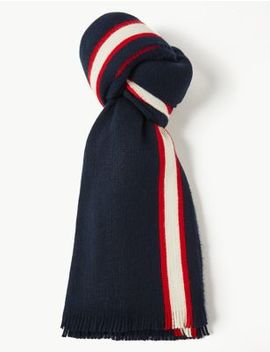 Striped Scarf by Marks & Spencer