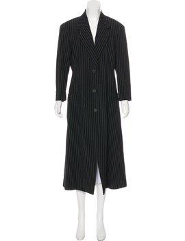 Longline Wool Blazer by Issey Miyake