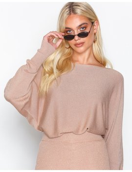 Lurex Big Sleeve Knit by Nly Trend
