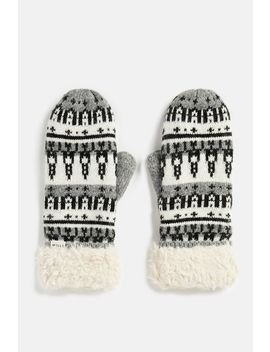 Crendon Fairisle Mitten by Jack Wills
