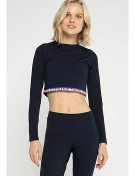Louise Cropped Tee   Maglietta A Manica Lunga by Tommy Hilfiger