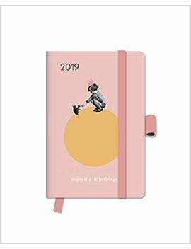 2019 Enjoy The Little Things Diary   Te Neues Green Line Diary   10 X 15 Cm by Te Neues Calendars & Stationery