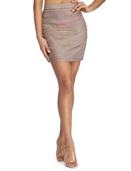 Radiant Glow Mini Skirt by Windsor