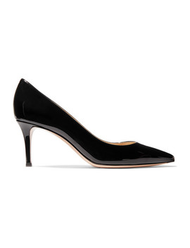 70 Patent Leather Pumps by Gianvito Rossi