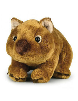 "Wombat Australian Soft Plush Toy Wilbur 8""/20cm Stuffed Animal Korimco New by Korimco"