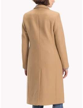 Tommy Hilfiger Belle Long Wool Coat by Tommy Hilfiger