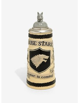 Game Of Thrones House Stark Ceramic Stein by Hot Topic