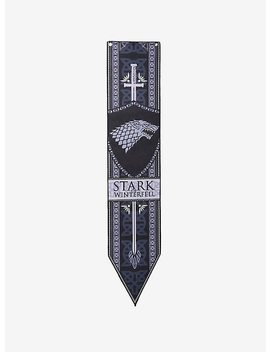 Game Of Thrones House Stark Of Winterfell Wall Scroll by Hot Topic