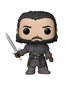 Funko Pop! Tv: Game Of Thrones Jon Snow (Beyond The Wall) Collectible Figure, Multicolor by Fun Ko