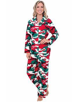 Alexander Del Rossa Womens Flannel Pajamas, Long Winter Cotton Pj Set by Alexander+Del+Rossa