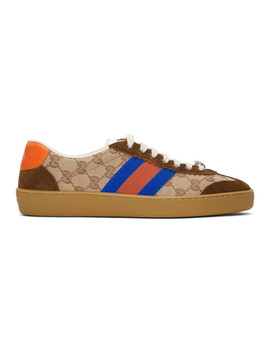 Camel G74 Sneakers by Gucci