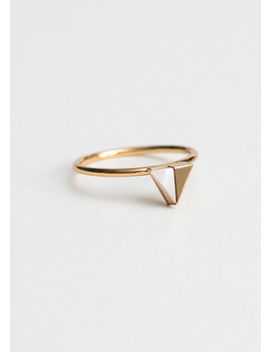 Duo Triangle Ring by & Other Stories