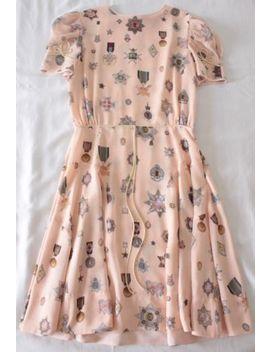 "Tommy Hilfiger Gigi Hadid Collection   Blush Silk ""Jewel"" Dress (Waaaay Rare!) 4 by Tommy Hilfiger / Hilfiger Collection / Tommy X Gigi Hadid"