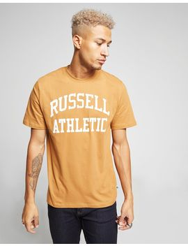 Russell Athletic Arch Logo Short Sleeve T Shirt by Russell Athletic