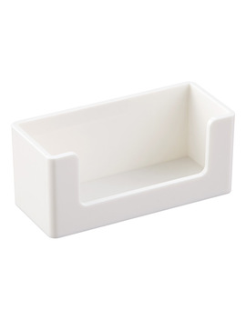 White Poppin Business Card Holder by Container Store